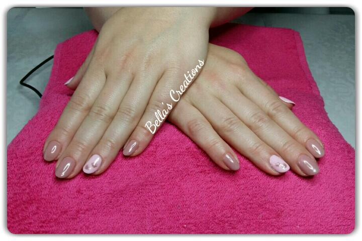 Gelish met nailart