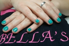 Gelish short nails