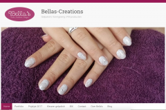 Website en logo Bella's Nailcreations & Designs