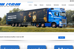 Website en logo JSB Transport Werkendam